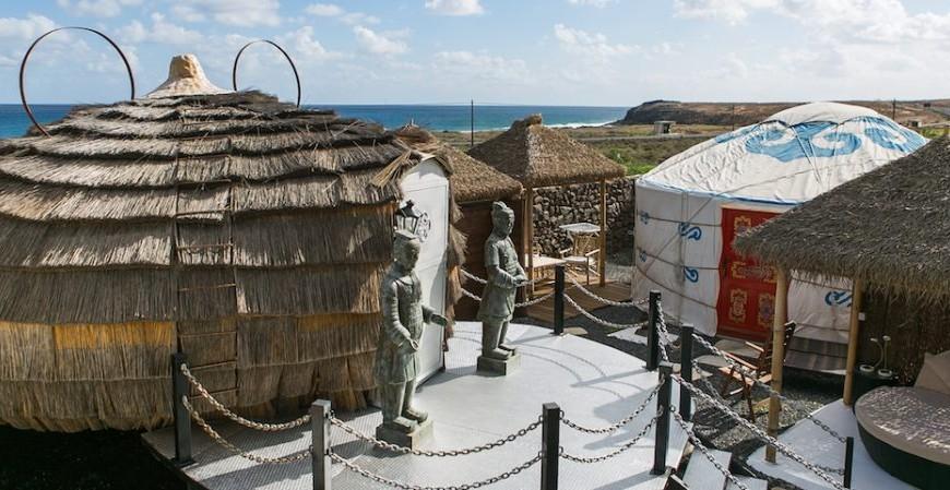 Entre yurtas y casas de campo, unas vacaciones rústicas en Lanzarote