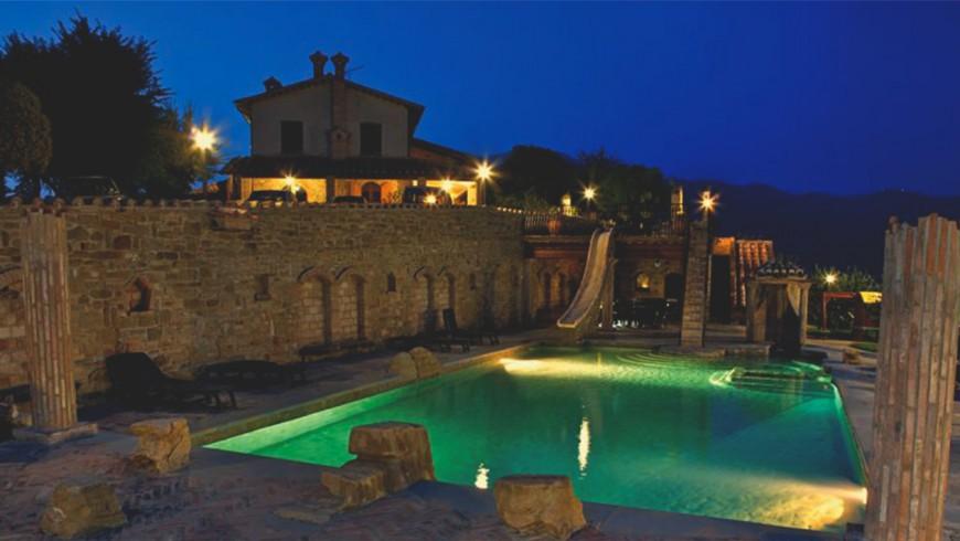 Villa Dama: en las colinas de Gubbio