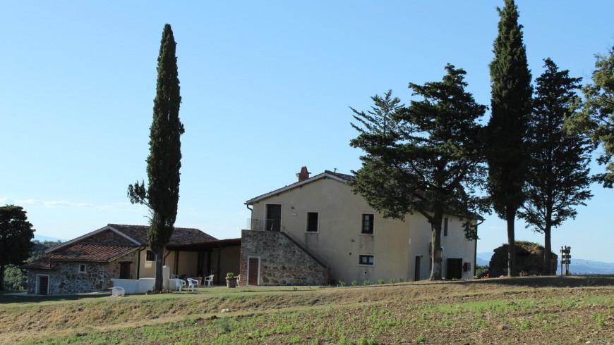 Ipoderi: casa de campo eco- chic en la Toscana