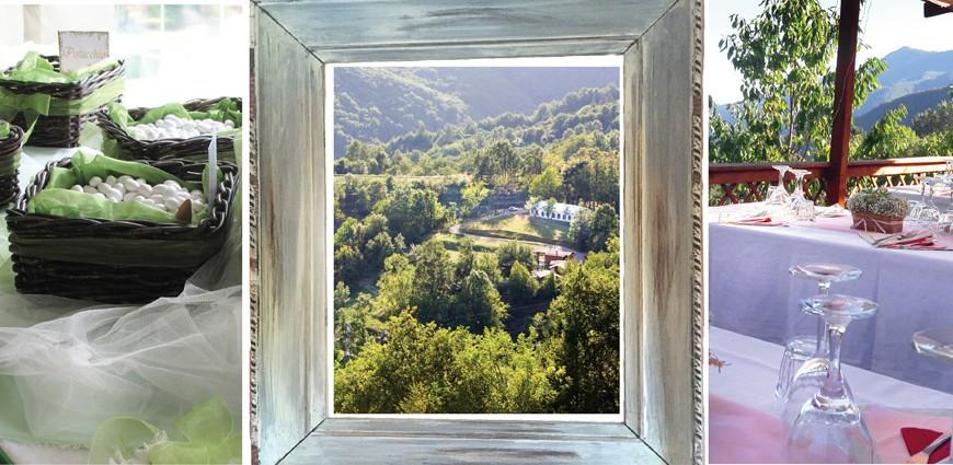 Centro Anidra: bodas ecológicas en el interior de Liguria