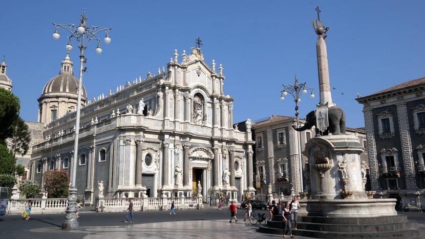 Plaza del Duomo, Catania, Sicilia