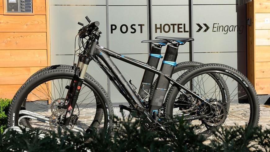 Bicicletas eléctricas en el DasPosthotel