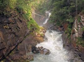 Río Sarca, camino a lo largo de las cascadas de Giuliano da Zanche en Flickr