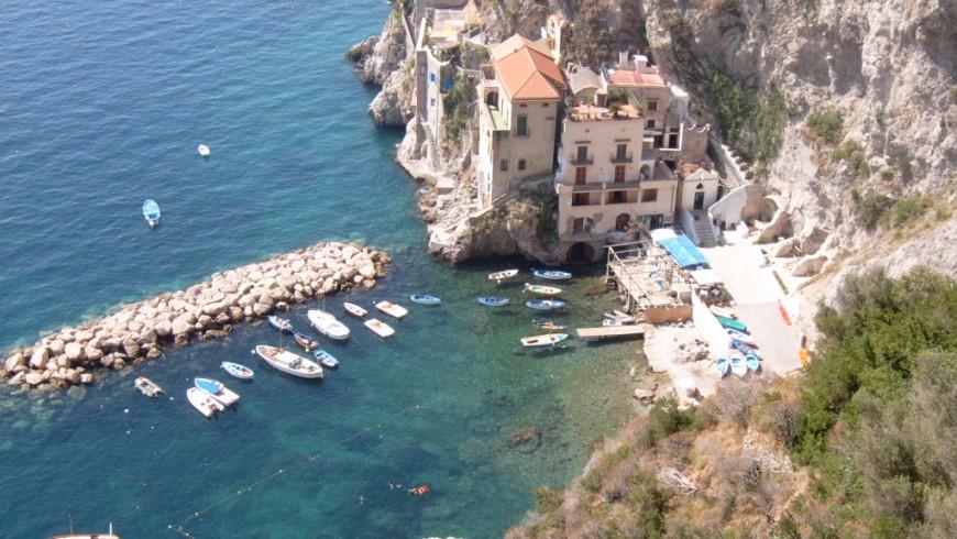 Conca dei Marini, el pueblo entre rocas y mar