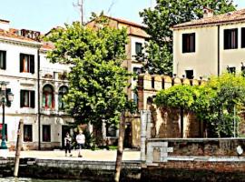 arbol en Venecia, vegetación y verde