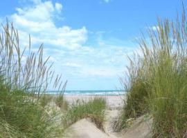 oasis natural en la laguna, sol y playa