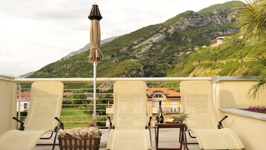 Eco hotel Bonapace in Alto Garda