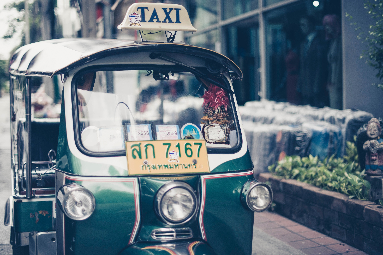 local taxi en Asia