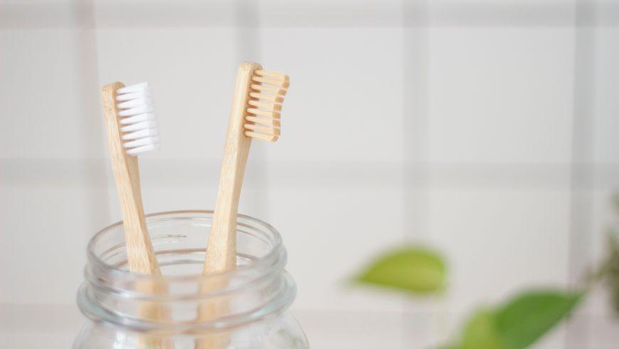 cepillos de dientes en hotel