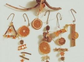 decoraciones con cítricos y canela
