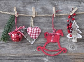 decoraciones de Navidad caseras