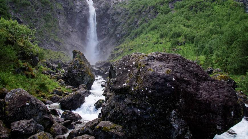 Cascada Mardalsfossen, Noruega