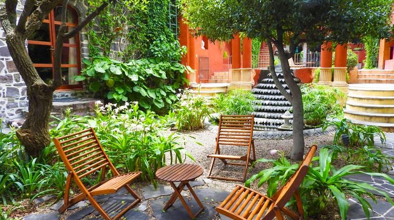 Jardin Posada Corazón, San Miguel Allende