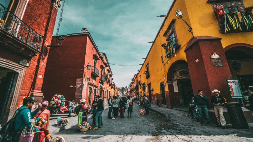 Ciudad San Miguel de Allende Mejico