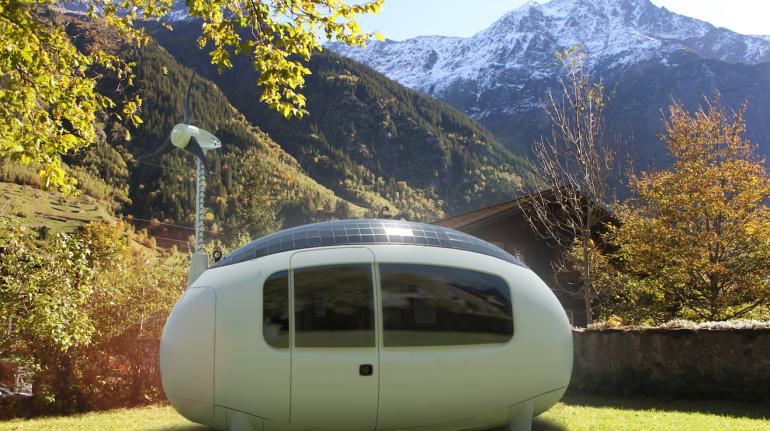 ecocápsula en Suiza