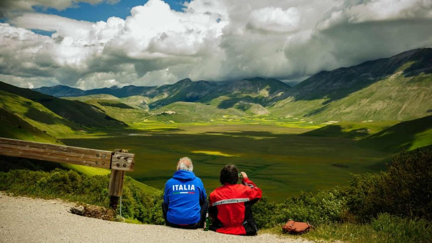 Camino en las Terre Mutate, Italia