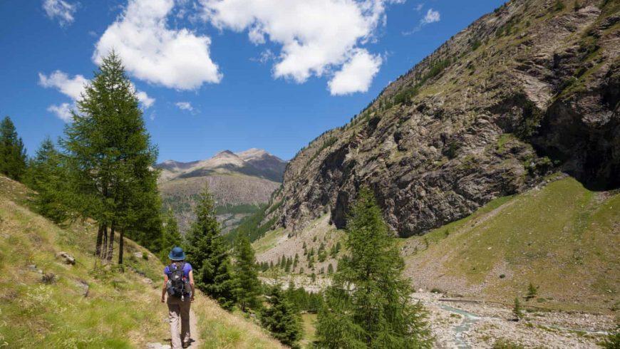 Via Francigena desde los Alpes hasta Lazio