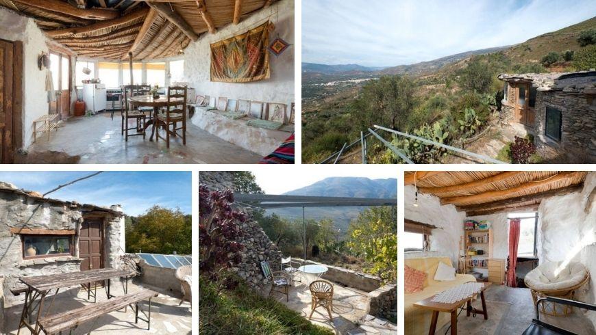 Órgiva (Granada): Cortijo La Jimena, una de las Casas Rurales Perfectas para unas vacaciones verdes en España