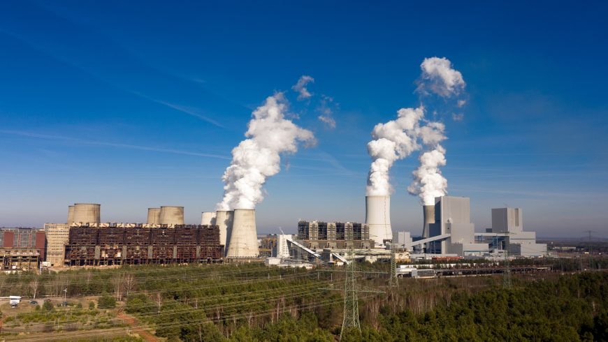 Central de generación eléctrica en Alemania