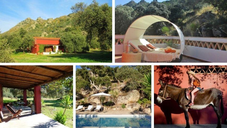 Extremadura: Finca al-Manzil, una de las Casas Rurales Perfectas para unas vacaciones verdes en España