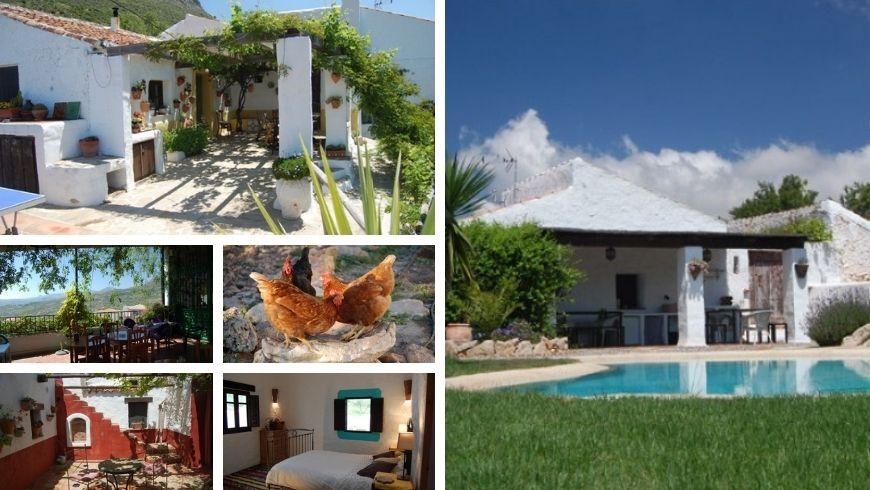 Málaga: Casa Belmonte,  una de las Casas Rurales Perfectas Para Huir del Caos de la Ciudad