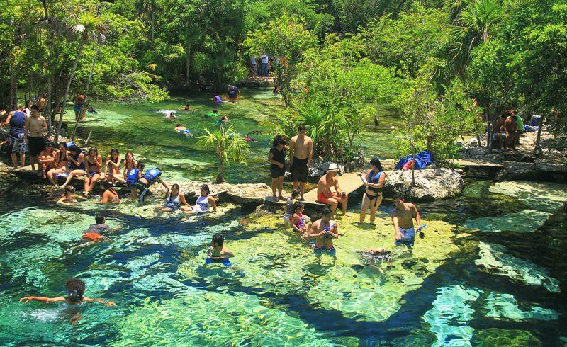 Gran Cenote, Yucatan, Mexico