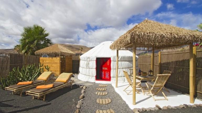 Yurta en Canarias