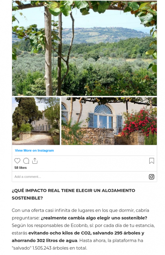 conde nast traveler ecobnb