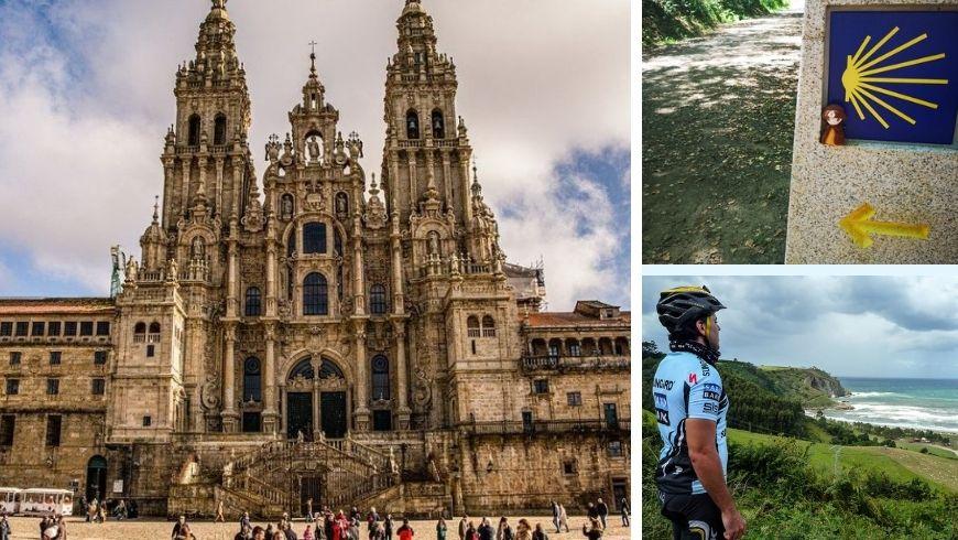 Rutas en bicicleta-Camino de Santiago