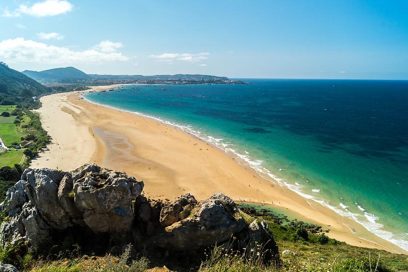 Noja-Playa de Trengandín