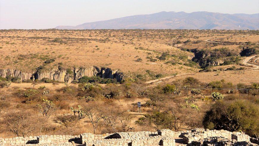 zona archeologica Cañada de la Virgen