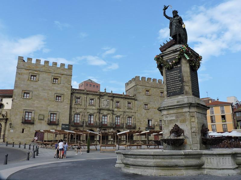 Gijón-Plaza del Marqués
