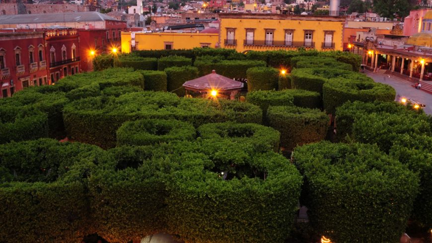 San Miguel de Allende jardines