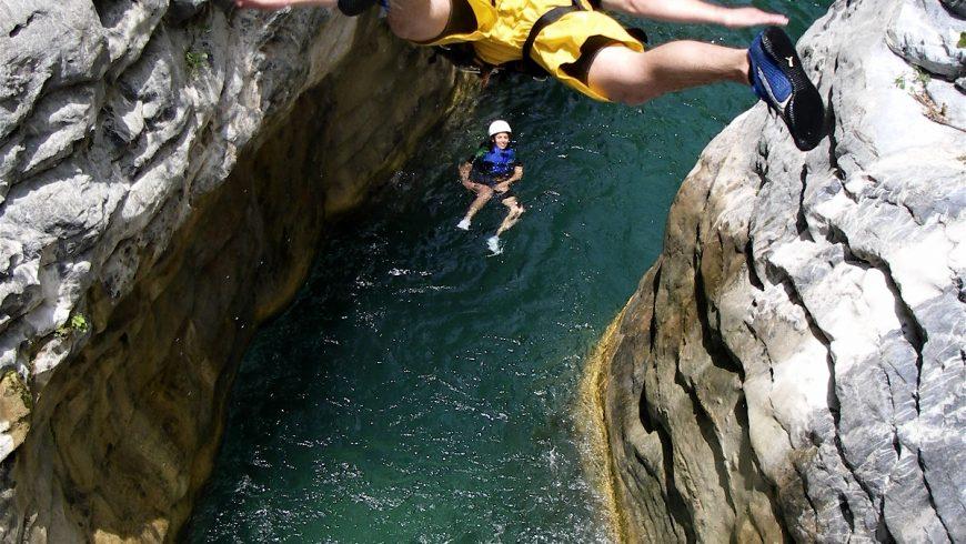actividades extremas cañónes Mexico