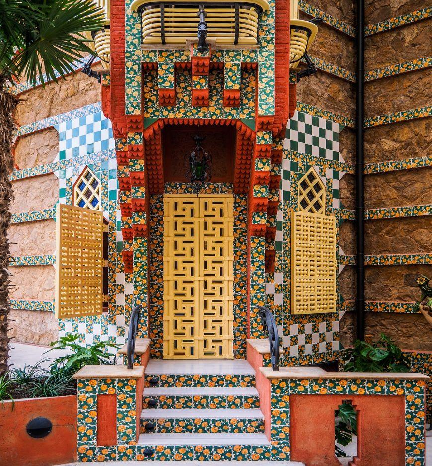 Casa Vicens Gaudì Barcelona