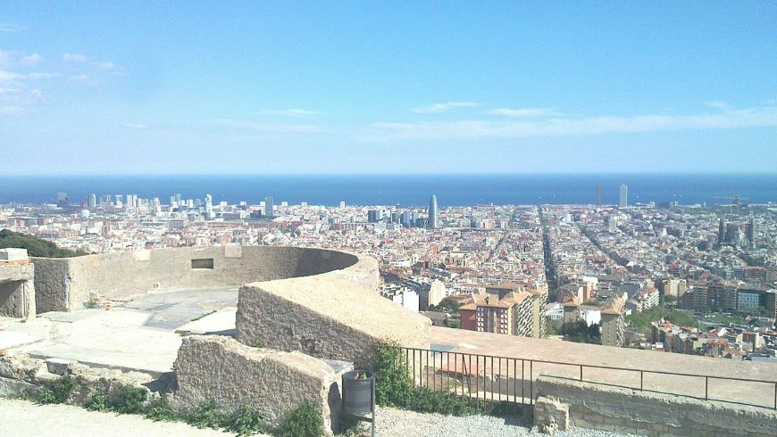 colle Turó de la Rovira, Barcelona